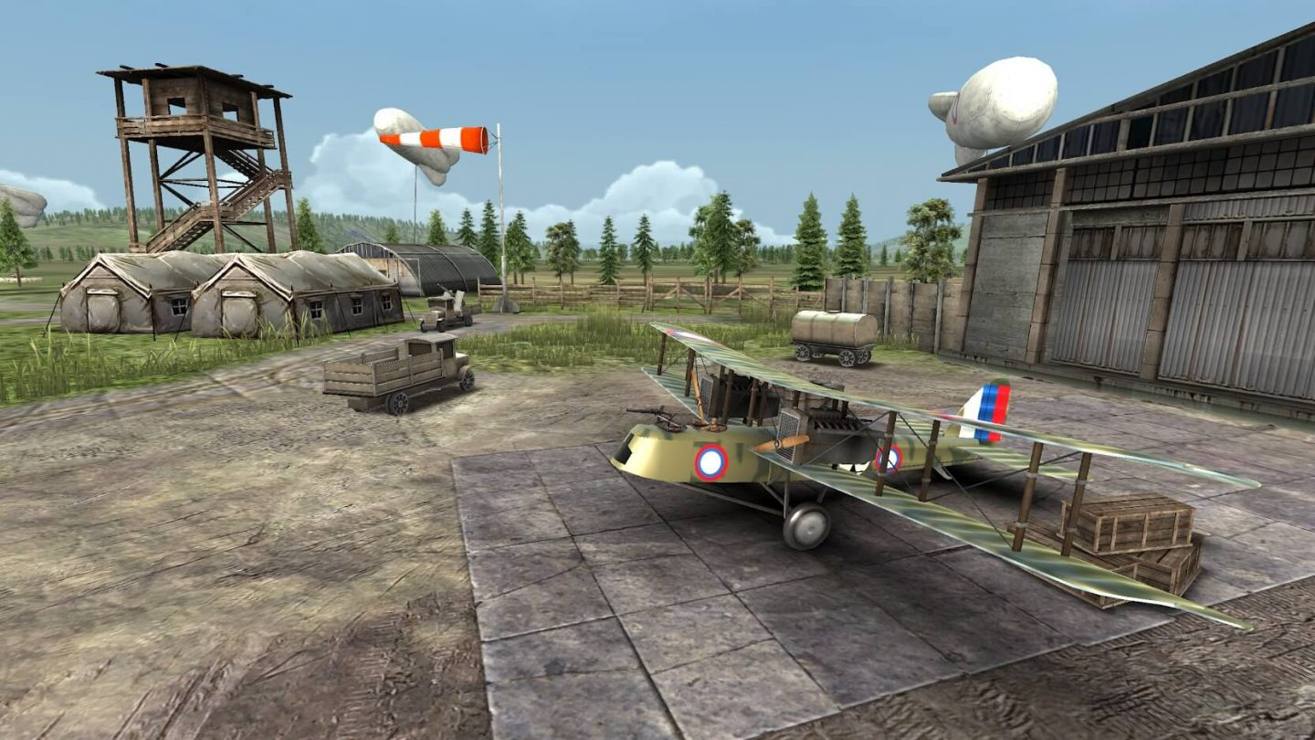 Warplanes WW1 Sky Aces for Android 1440x810