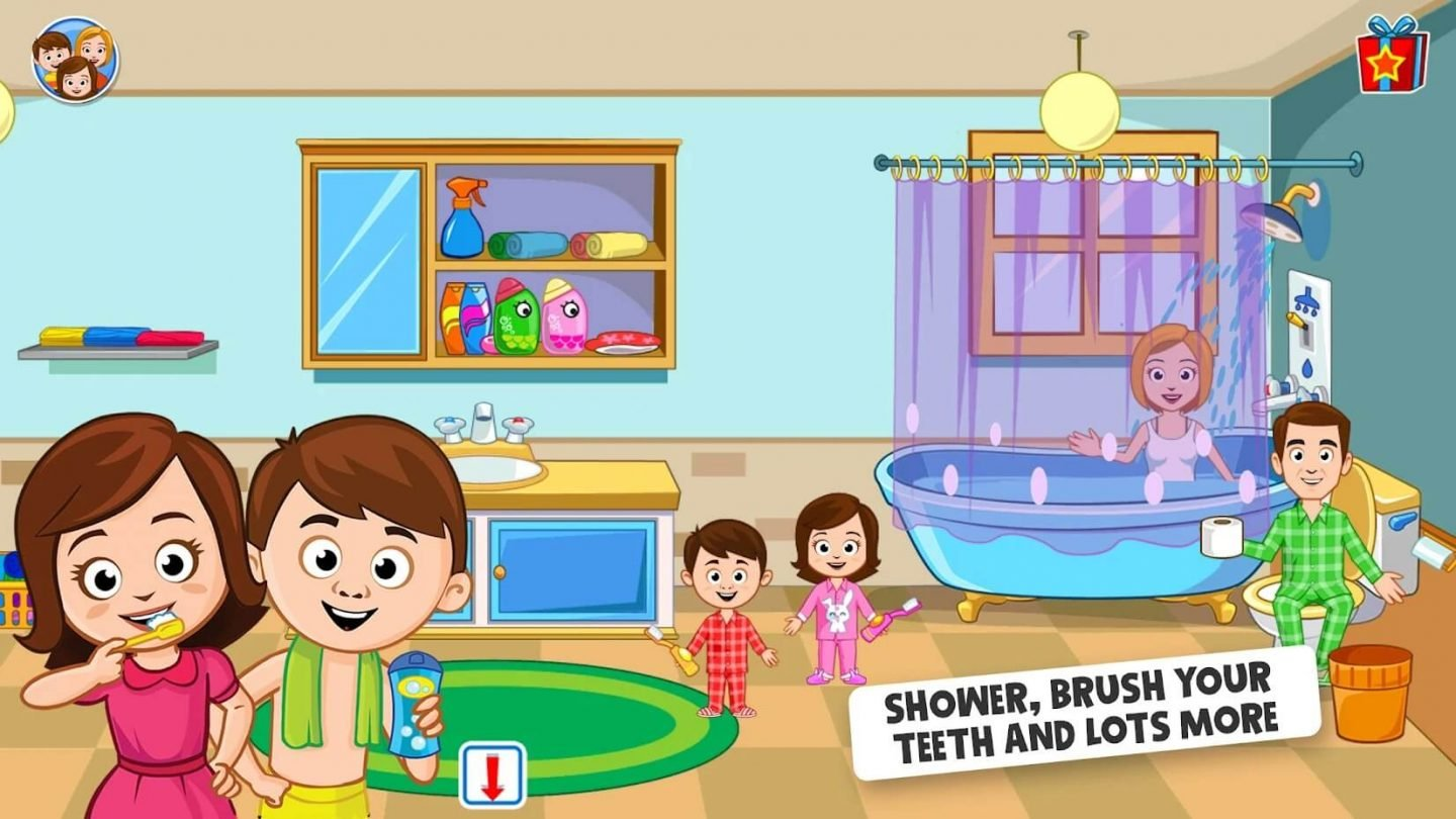 My Town Home Doll house for Android 1440x810