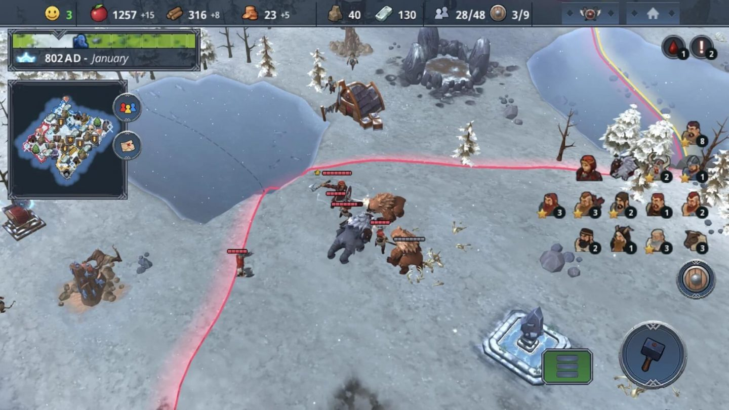 Northgard for Android 1440x810