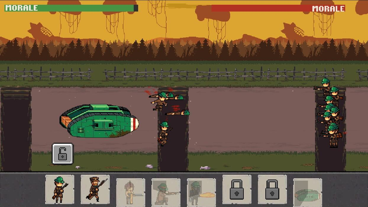 War Troops 1917 for Android